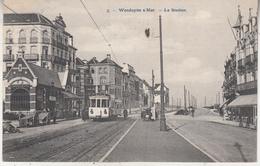 Wenduine - Wenduyne S/Mer - Het Station - Tram - Uitg. Pap. St Michel, Richez Soeurs Nr 3 - Wenduine