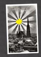 S/w Ak  Wien, Stephansdom Mit HK-Sonne, Stempel 1938! - Germany