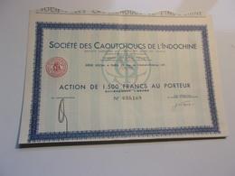 LES CAOUTCHOUCS DE L'INDOCHINE - Shareholdings