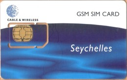 Seychelles - SC-C&W-GSM-0003, Cable & Wireless - GSM / SIM, Seychelles - GSM SIM Card, Mint - Seychelles