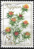 JAPAN (FUKUSHIMA PREFECTURE) 2008 Prefectural Flowers - 80y - Safflower FU - 1989-... Empereur Akihito (Ere Heisei)