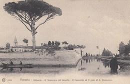 VENEZIA-ESTUARIO-SAN FRANCESCO DEL DESERTO-IL CONVENTO ED IL PINO DI S,FRANCESCO-CARTOLINA NON VIAGGIATA IL 9-5-1908 - Venezia (Venice)