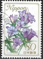JAPAN (FUKUSHIMA PREFECTURE) 2008 Prefectural Flowers - 80y - Gentian FU - 1989-... Empereur Akihito (Ere Heisei)