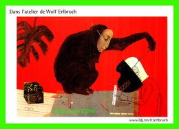 ILLUSTRATEURS - WOLF ERLBRUCH - DANS L'ATELIER DE WOLF ERLBRUCH, SITE-EXPLORATION, 2001 - - Illustrateurs & Photographes