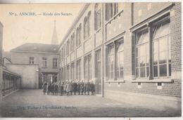 Asse - Assche - Zustersschool - Ecole Des Soeurs - Geanimeerd - Uitg. Richard Dieudonné, Assche/Marcovici  N° 4 - Schools