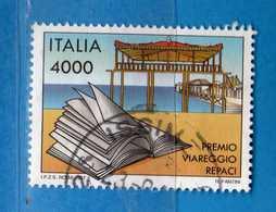 Italia °- 1997 - Premio - Viareggio-Repaci  Unif. 2345.  Usato.  Vedi Descrizione - 1946-.. République