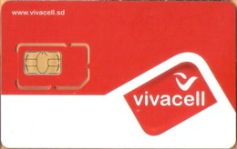 Sudan - SD-VIV-GSM-0001, Vivacell - GSM / SIM, Vivacell Red-White, Mint - Soedan