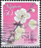 JAPAN (WAKAYAMA PREFECTURE) 2008 Prefectural Flowers - 50y - Pink Plum Blossom FU - 1989-... Empereur Akihito (Ere Heisei)