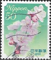 JAPAN (WAKAYAMA PREFECTURE) 2008 Prefectural Flowers - 50y - White Plum Blossom (Fukuoka) FU - 1989-... Empereur Akihito (Ere Heisei)