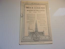 VILLE DE BRUXELLES (1925) - Azioni & Titoli