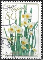 JAPAN (WAKAYAMA PREFECTURE) 2008 Prefectural Flowers - 80y - Narcissus (Fukui) FU - 1989-... Empereur Akihito (Ere Heisei)