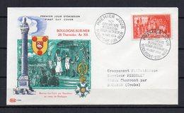FRANCE - FR1304 - 1954 - FDC - Légion D'honneur - 35 € - 1950-1959
