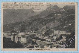 Italy / Post Card / Bergamo. San Pellegrino Terme. Panorama. Architecture. 1947 - Sondrio