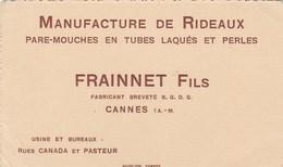 Manufacture De Rideaux Frainnet Fils Cannes - Cartes
