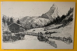8465 - En Valais  Cervin  Editions Vouga No 13 - VS Valais