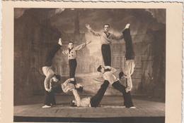 """Ille  Et  Vilaine :  VITRE , Vitré  """" Les  Martin ' Ys """" , Acrobate , Cirque ( Env. 12,5 Par 9  Cm ) - Vitre"""