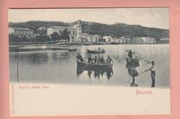 TWO OLD POSTCARDS  ITALY - ITALIA -  MESSINA - 1900'S - Messina