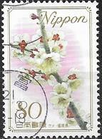 JAPAN (WAKAYAMA PREFECTURE) 2008 Prefectural Flowers - 80y - Pink Plum Blossom (Fukuoka) FU - 1989-... Empereur Akihito (Ere Heisei)