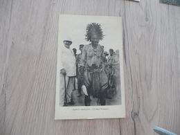 CPA Afrique Africa Congo Français Féticheur Missanga Scarifications - Congo Français - Autres