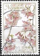 JAPAN (WAKAYAMA PREFECTURE) 2008 Prefectural Flowers - 80y - Weeping Cherry Blossom (Kyoto) FU - 1989-... Empereur Akihito (Ere Heisei)