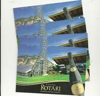 Cartolina  --cantina  Rotari Spumanti  N. 4  Pezzi--VINI  TEROLDEGO - Alberghi & Ristoranti