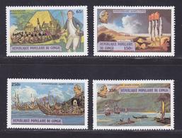 CONGO N°  534 à 537 ** MNH Neufs Sans Charnière, TB (D8895) Capitaine James Cook - 1978 - Congo - Brazzaville
