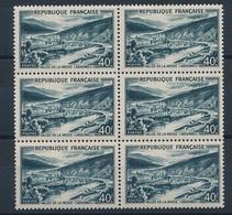CP-299: FRANCE: Lot Avec N°842A** En Bloc De 6 - Unused Stamps