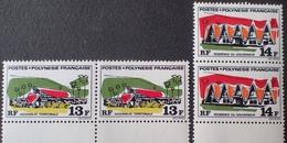 DF50500/681 - 1970 - POLYNESIE FR. - N°72 à 73 NEUFS** - Cote : 22,90 € - Neufs