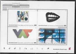 GERMANY - DOCUMENTA KASSEL - ARTE MODERNA 1997 -  FOGLIETTO NUOVO **-  (YVERT BF 38 -  MICHEL BL 39) - [7] Federal Republic