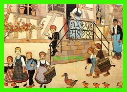 ILLUSTRATEURS - HANSI (1873-1951) - LE DÉPART POUR L'ÉCOLE -  EDITIONS LA CIGOGNE - - Illustrateurs & Photographes