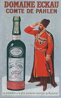 Adveert Domaine Eckau Kummel Comte De Pahlen Born In Palms Dead In Mittau . Cosaque Kossack. Pub Distillerie Woltner - Lettonie