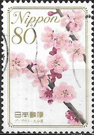 JAPAN (CHIBA PREFECTURE) 2009 Prefectural Flowers - 80y - Ume Blossom (Prunus Mume Var. Bungo) (Oita)  FU - 1989-... Empereur Akihito (Ere Heisei)