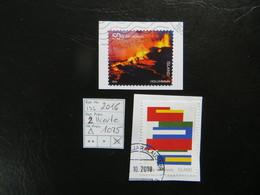 """2016  """" 2 Werte  """" Auf Ausschnitt, Gut Gestempelt   LOT 1075 - 1944-... Republik"""