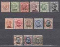 Italy Colonies Somalia 1926 Sassone#92-104 Mint Hinged, Complete Set - Somalia