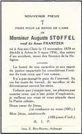 Auguste Stoffel Aix Sur Cloie 12 Nov 1878 Arlon 1956 - Aubange