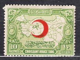 Turkey 1928 Charity Mi#12 Mint Hinged - 1921-... Republiek