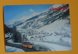 PK/CP : Autobus - Saas-Grund 1559 M.ü.M. - Busse & Reisebusse