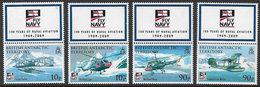 British Antarctic Territory 2009 Naval Aviation 4v Set Unmounted Mint [3/3083/ND] - British Antarctic Territory  (BAT)