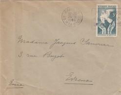 SEUL SUR LETTRE. 1946 CONFERENCE PARIS - 1921-1960: Moderne