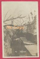 """Argonne Guerre De 1914-18 : Carte Photo """" Höhe 285 """" Envoyée S. Allemand Du 3 Lothr Inft. Regt.135  De Thionville Cachet - Weltkrieg 1914-18"""