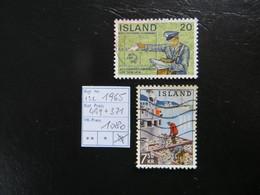 "1965  "" 2 Werte "" Gestempelt   LOT 1080 - 1944-... Republik"