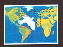 Angola 1995 - The 90th Anniversary Of The Rotary International  # MNH #  Inglish Inscription Cv = € 8.00 - Angola