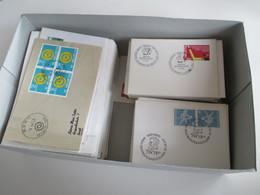Schweiz 1960er Jahre FDC / Sonderstempel / Sonderbelege Insgesamt 260 Stück! Auch Kleinformatige Umschläge! - Briefmarken
