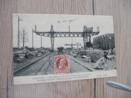 CPA Belgique Belgie Soignies Carrières Du Hainaut Pont Roulant électrique - Soignies
