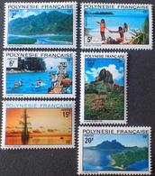 DF50500/687 - 1974 - POLYNESIE FR. - (SERIE COMPLETE) N°97 à 102 NEUFS** - Cote : 20,00 € - Neufs