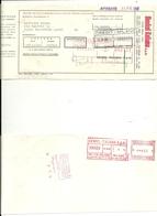 HENKEL  ITALIANA   S.P. A.  N. 2  PEZZI    CREDITO  VARESINO - CREDIT  MILANO - Assegni & Assegni Di Viaggio