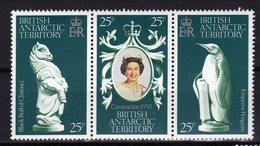 ANTARCTIQUE BRITANNIQUE BAT 1978 Coronation Yv 75/77 MNH ** - Britisches Antarktis-Territorium  (BAT)