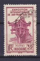 Indochina Indochine 1939 Mi. 243   39c. Ausstellung Exhibition Exposition, San Francisco Môt-Cót-Pagode - Indochina (1889-1945)