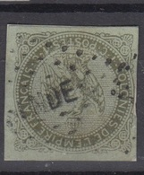 #135 COLONIES GENERALES N° 1 Oblitéré Losange INDE - Aigle Impérial