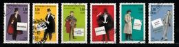 France 1996 : Timbres Yvert & Tellier N° 3025 - 3026 - 3027 - 3028 - 3029 Et 3030 Avec Oblitérations Rondes. - France